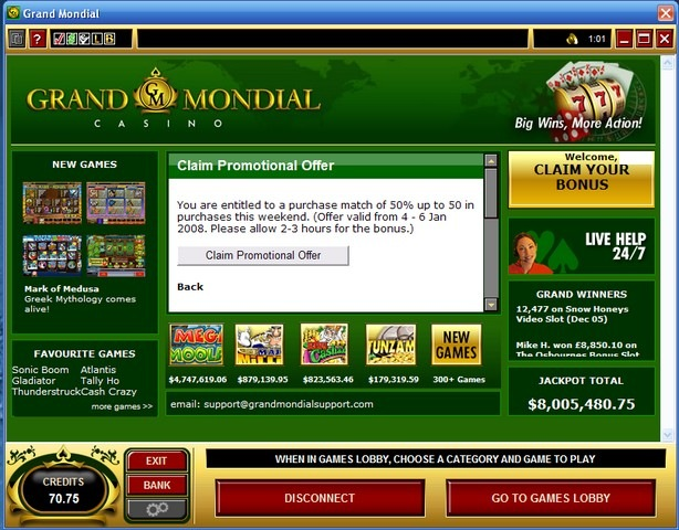 grand mondial casino is it real
