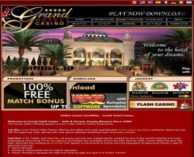 oferta casino grand hotel