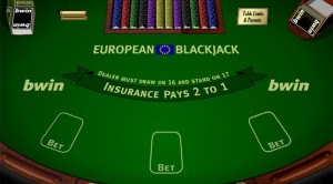 European Blackjack en el Casino Virtual